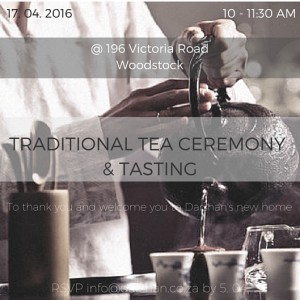 Tea Ceremony Invite